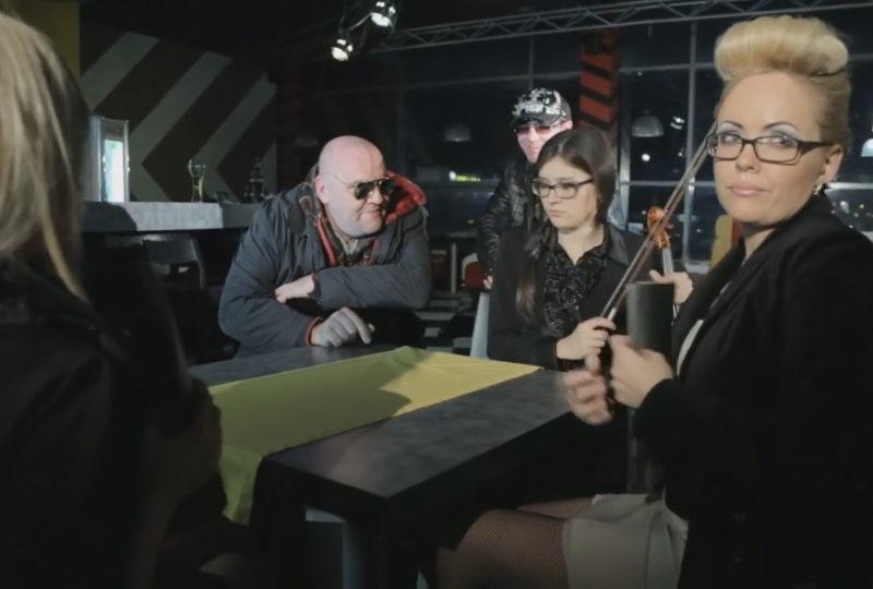 группа «Силлензиум», музыкальный клип «Мурка»